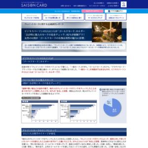 クレジットカードに関する意識調査レポート