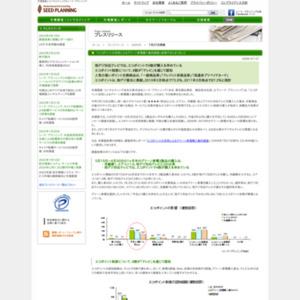 エコポイントの活用によるグリーン家電購入動向調査