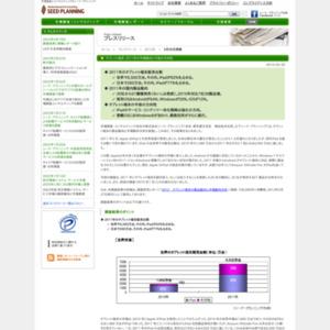 タブレット端末、2011年の市場動向と今後の方向性