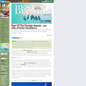 The Smart Travel Asia 2013 Best in Travel Poll