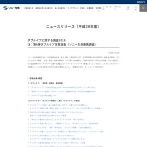 ダブルケアに関する調査2018