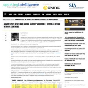 Sommer pips Neuer and Buffon as best 'Moneyball' keeper as De Gea intrigue continues