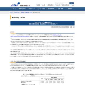 ネットショッピングの実態を探る!! ~家計消費状況調査 調査開始から3か月間の結果より~