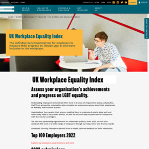Workplace Equality Index