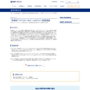 """""""地場系""""ウイスキー&ビール&ワイン実態調査"""