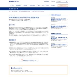 家賃債務保証会社48社の経営実態調査