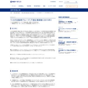 「トヨタ自動車グループ」下請企業調査(2019年)