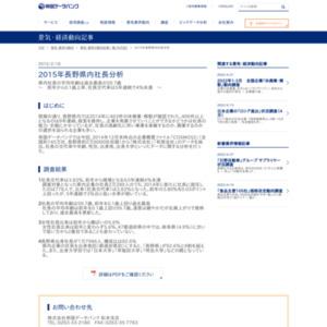 2015年長野県内社長分析
