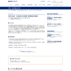 北海道の休廃業・解散動向調査