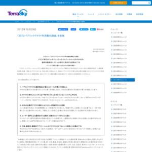 2012パブリッククラウド利用動向調査