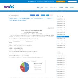 2013パブリッククラウド利用動向調査