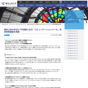 新入生の「コミュニケーションツール」利用実態調査