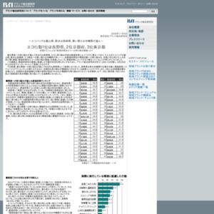 都道府県別エコへの取り組み調査