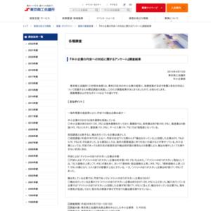 中小企業の円安への対応に関するアンケート