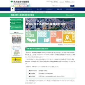 地震に関する地域危険度測定調査(第7回)