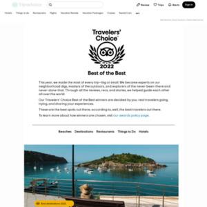 トラベラーズチョイス 世界の人気観光スポット2014 アミューズメントパーク 世界