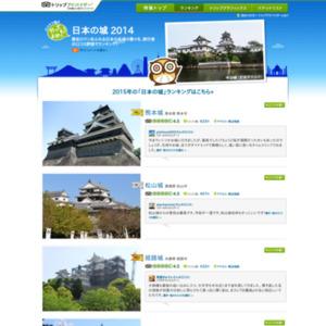 行ってよかった!日本の城ランキング 2014