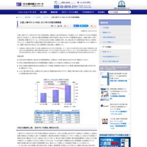 主要上場ゼネコン58社 2013年3月期決算調査