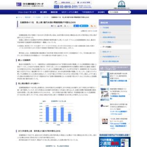 豆腐業者411社 売上高1億円未満の零細規模が半数を占める