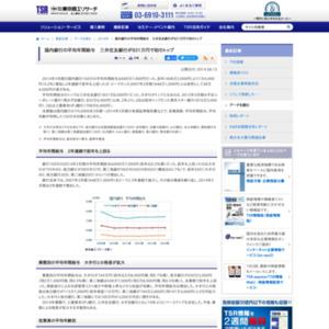 国内銀行の平均年間給与 三井住友銀行が831万円で初のトップ