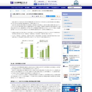 主要上場ゼネコン56社 2014年9月中間期の決算状況