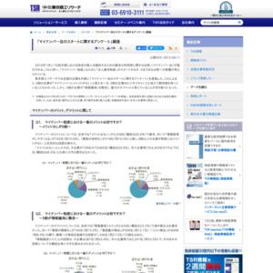 「マイナンバー法のスタートに関するアンケート」調査