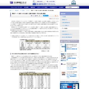 関西アーバン銀行・みなと銀行・近畿大阪銀行 「取引企業」調査