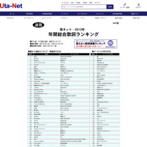 歌ネット 速報 2013年総合ランキング