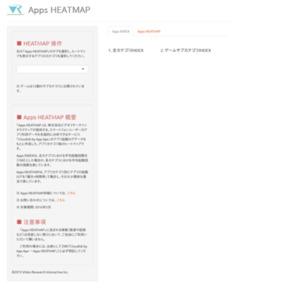 Apps HEATMAP
