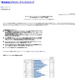 PCインターネットユーザーのスマートフォン所有率は、全体で27.0%。2011年8月時点にくらべ、8.2ポイントの増加