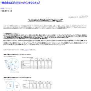 「SmartPhone Contents Report (vol.04)」予備調査