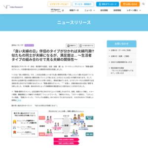 「情報×選択セグメント」の夫婦の組み合わせによる関係性の研究