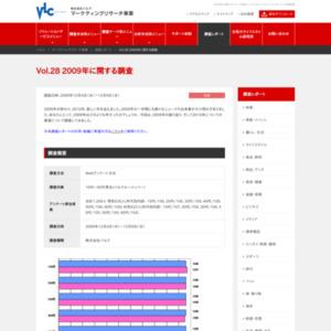 VOL.28  2009年に関する調査(2009/12)