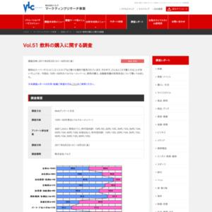 VOL.51 飲料の購入に関する調査(2011/8)