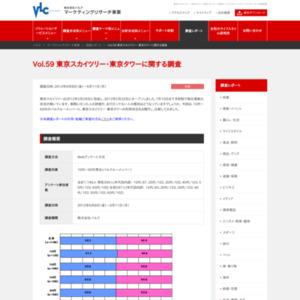 VOL.59 東京スカイツリー・東京タワーに関する調査(2012/6)