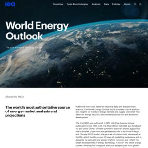 World Energy Outlook 2014
