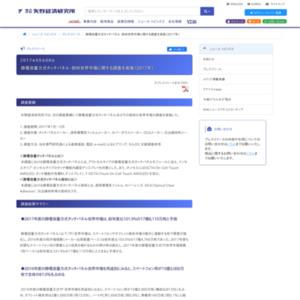 静電容量方式タッチパネル・部材世界市場に関する調査を実施(2017年)