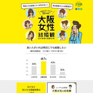 大阪府民のニッチな恋愛観調査2017