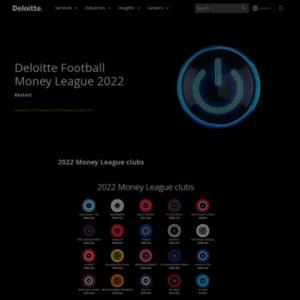 Deloitte Football Money League 2016