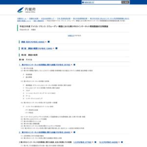 アメリカ・フランス・スウェーデン・韓国における青少年のインターネット環境整備状況等調査