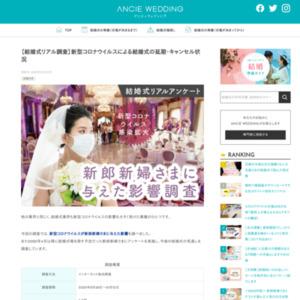 【結婚式リアル調査】新型コロナウイルスによる結婚式の延期・キャンセル状況