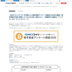 暗号資産アンケート調査2020
