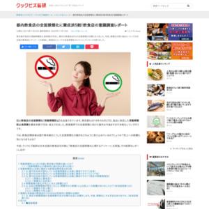 飲食店の全面禁煙化に関するアンケート