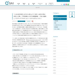「予防医療」に対する意識調査