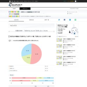 月例ネット世論調査2016年10月