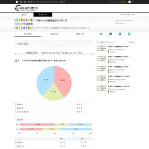 月例ネット世論調査2015年1月