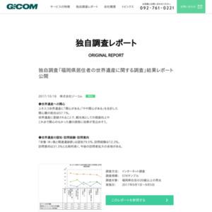 「福岡県居住者の世界遺産に関する調査」