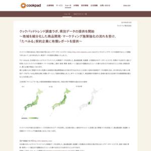 「サバ」と「サバ缶」の県別検索頻度の地域分布と、特定の県で特徴的な組み合わせ食材