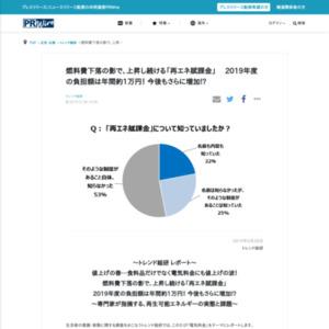 「電気料金」に関する意識調査