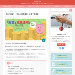 【20代男女】「貯金と資産運用」に関する調査
